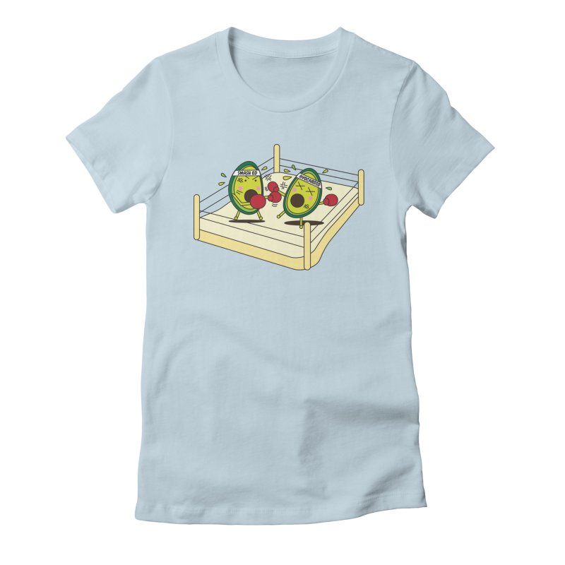 Smashed Avocado on Toast Women's Fitted T-Shirt by Avo G'day!