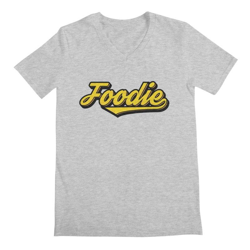 Foodie Men's Regular V-Neck by Avo G'day!