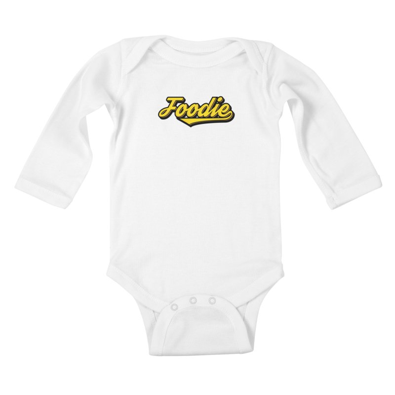 Foodie Kids Baby Longsleeve Bodysuit by Avo G'day!