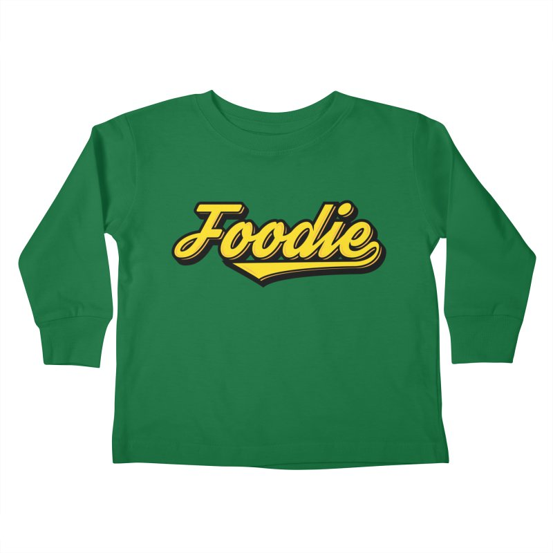 Foodie Kids Toddler Longsleeve T-Shirt by Avo G'day!
