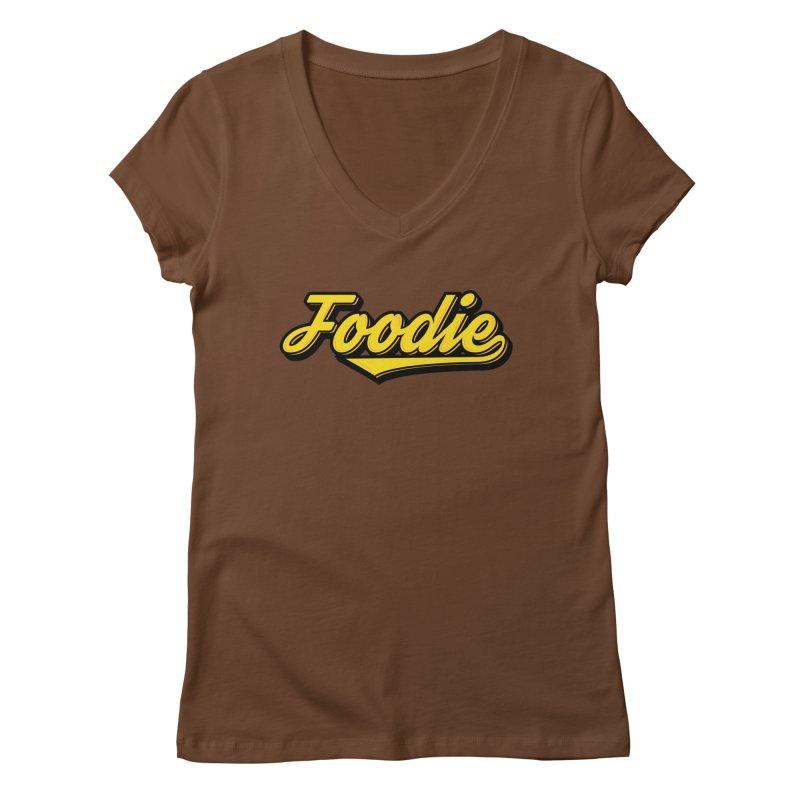Foodie Women's Regular V-Neck by Avo G'day!