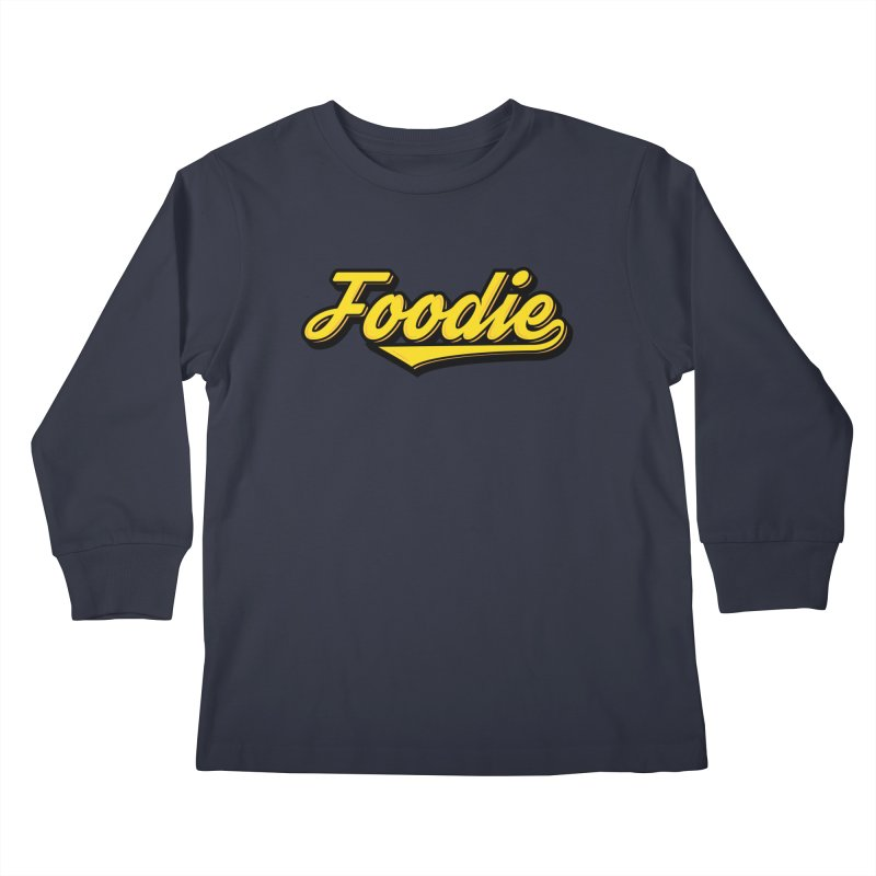 Foodie Kids Longsleeve T-Shirt by Avo G'day!
