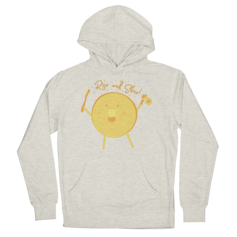 Rise and Shine! Men's French Terry Pullover Hoody by Avo G'day!