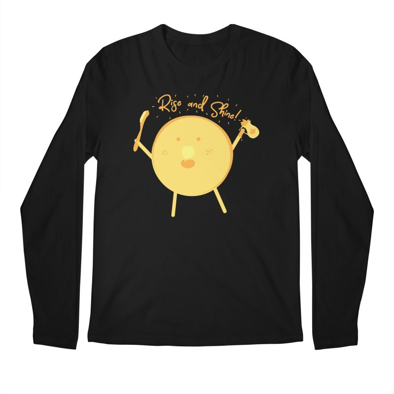 Rise and Shine! Men's Regular Longsleeve T-Shirt by Avo G'day!