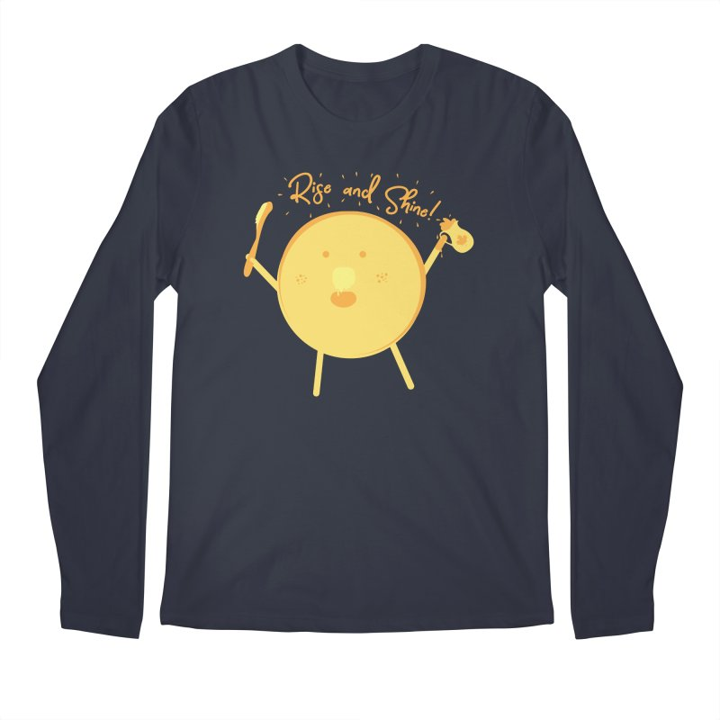 Rise and Shine! Men's Regular Longsleeve T-Shirt by Avo G'day!