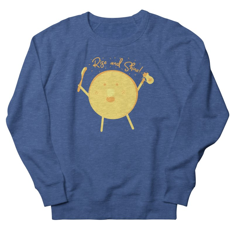 Rise and Shine! Men's French Terry Sweatshirt by Avo G'day!