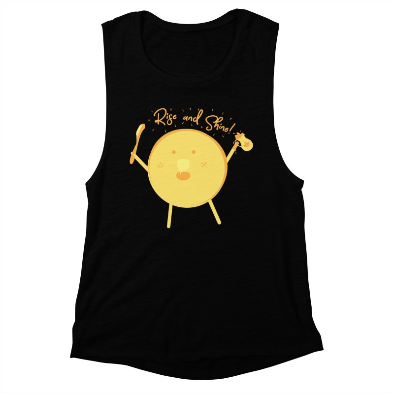 Rise and Shine! Women's Muscle Tank by Avo G'day!