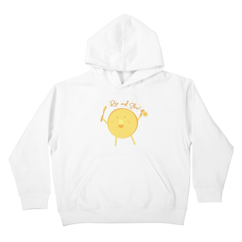 Rise and Shine! Kids Pullover Hoody by Avo G'day!