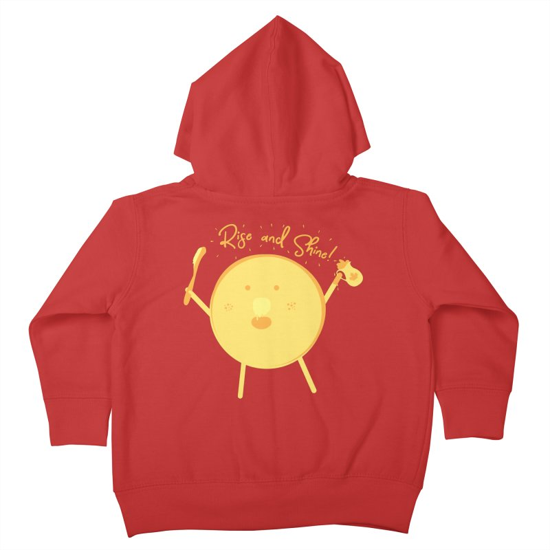 Rise and Shine! Kids Toddler Zip-Up Hoody by Avo G'day!