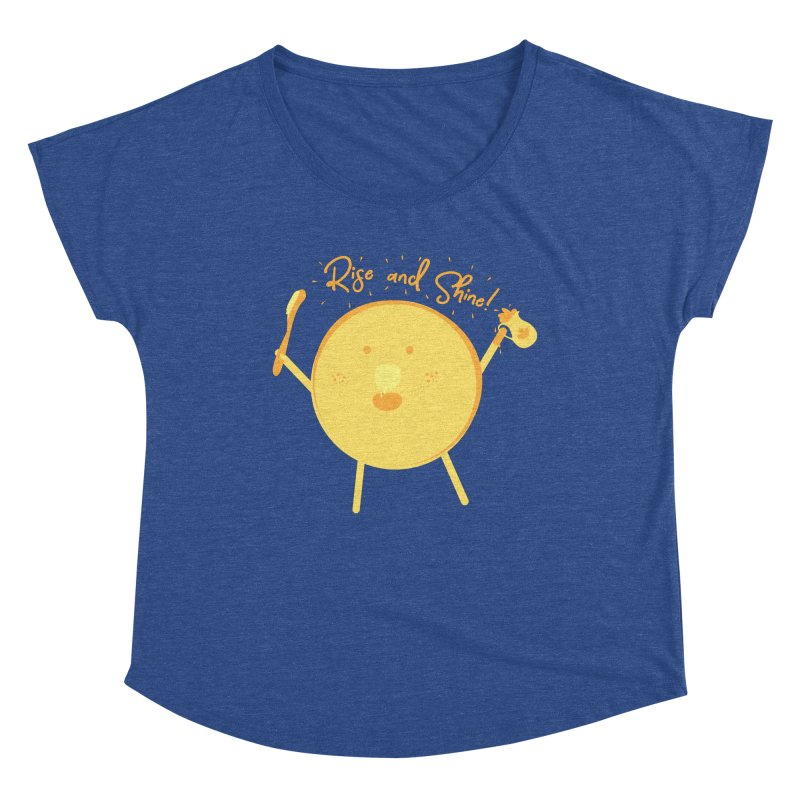 Rise and Shine! Women's Dolman Scoop Neck by Avo G'day!