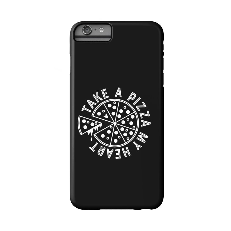Pizza My Heart - White Accessories Phone Case by Avo G'day!