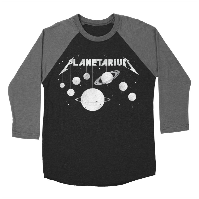 Planetarium Men's Baseball Triblend T-Shirt by avoidperil Artist Shop