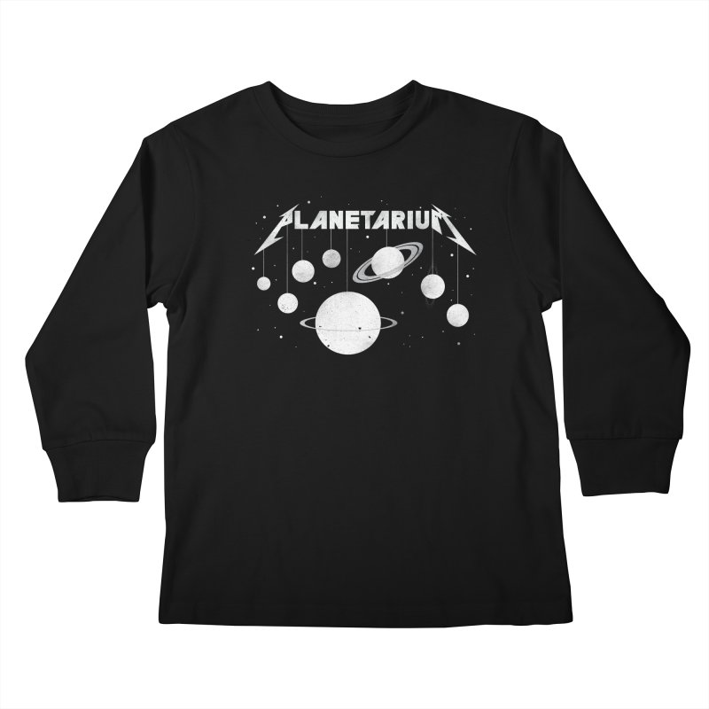 Planetarium Kids Longsleeve T-Shirt by avoidperil Artist Shop