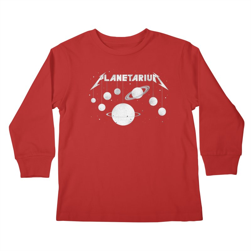 Planetarium Kids Longsleeve T-Shirt by avoidperil Artist Shop
