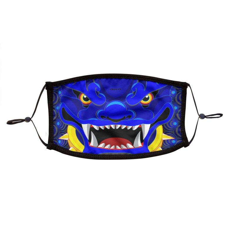 YEAR OF THE FOO DOG Accessories Face Mask by AW177