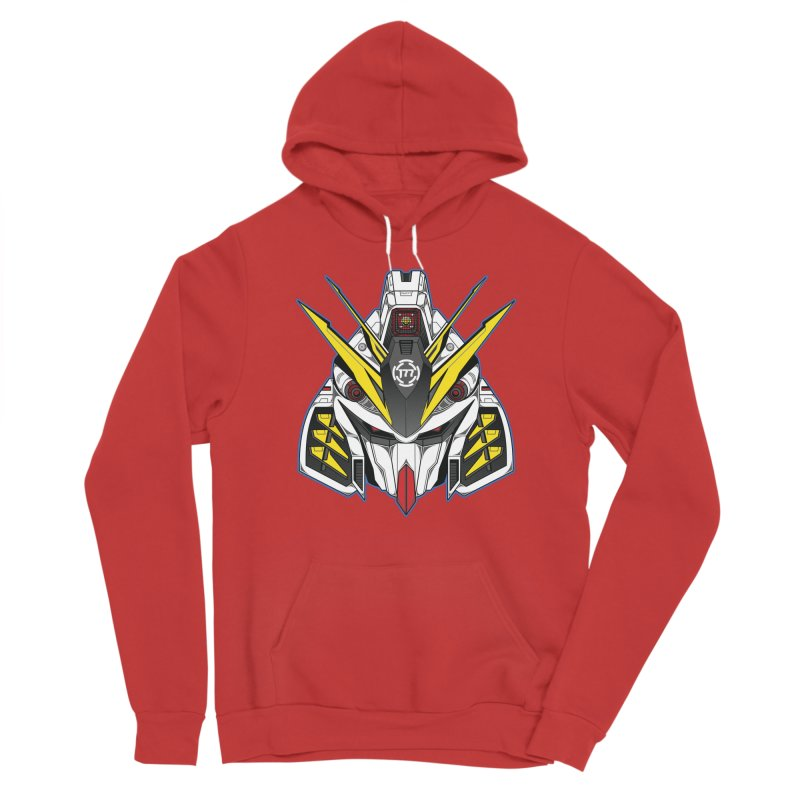 MACHINE TYPE 001 - SUPREME ED. Men's Pullover Hoody by AW177
