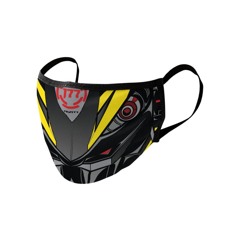 MACHINE TYPE 001 - STEALTH ED. Accessories Face Mask by AW177