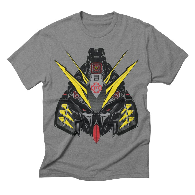 MACHINE TYPE 001 - STEALTH Edition Men's Triblend T-shirt by AW177