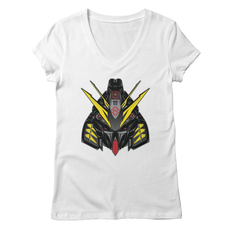 MACHINE TYPE 001 - STEALTH Edition Women's Regular V-Neck by AW177