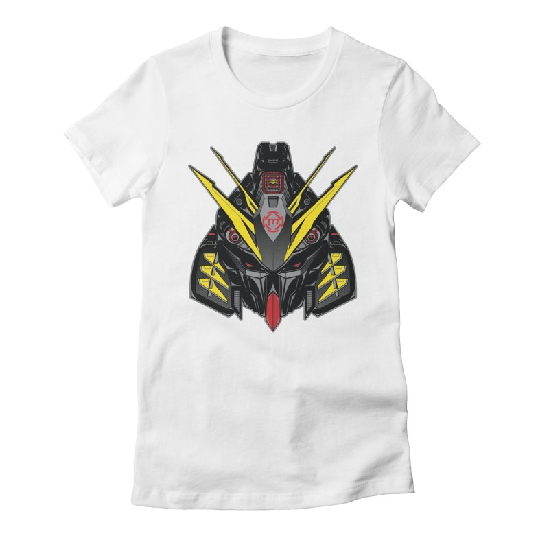 MACHINE TYPE 001 - STEALTH Edition Women's Fitted T-Shirt by AW177