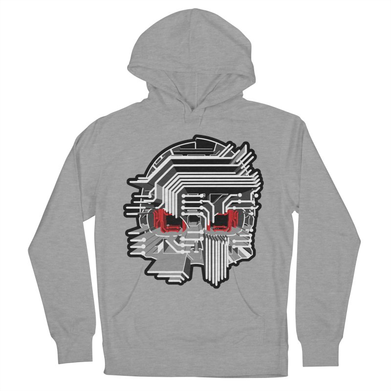 CIRCUIT DEATH Men's Pullover Hoody by AW177