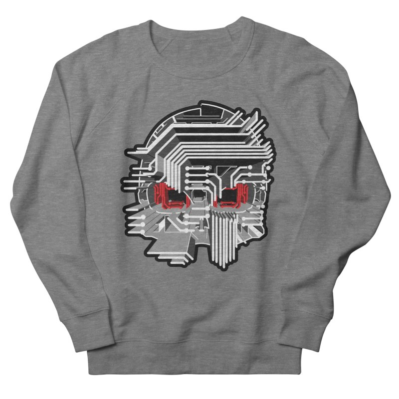 CIRCUIT DEATH Men's French Terry Sweatshirt by AW177
