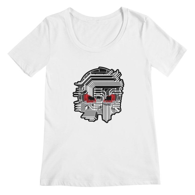 CIRCUIT DEATH Women's Scoopneck by AW177