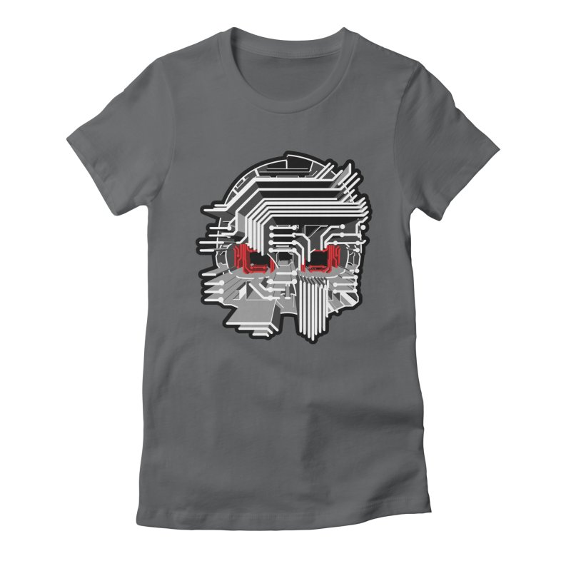 CIRCUIT DEATH Women's Fitted T-Shirt by AW177