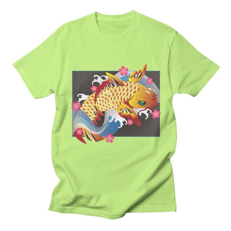 KOI Men's Regular T-Shirt by AW177