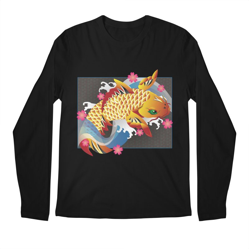 KOI Men's Regular Longsleeve T-Shirt by AW177