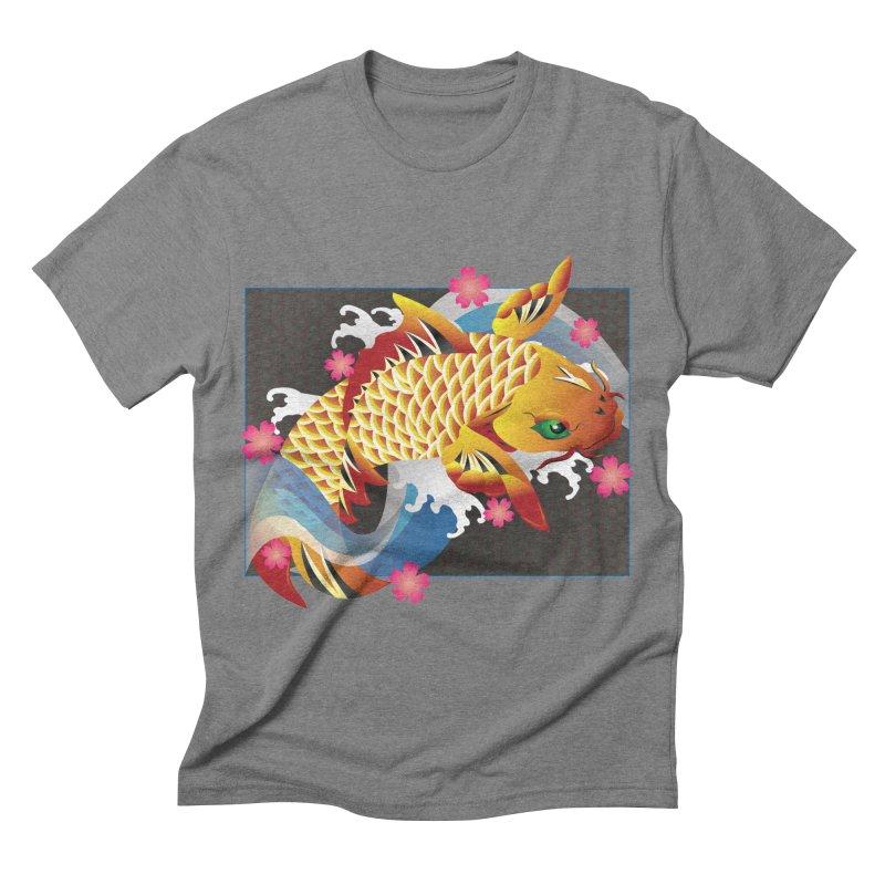 KOI Men's Triblend T-shirt by AW177