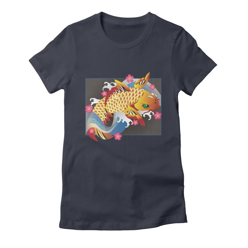 KOI Women's Fitted T-Shirt by AW177