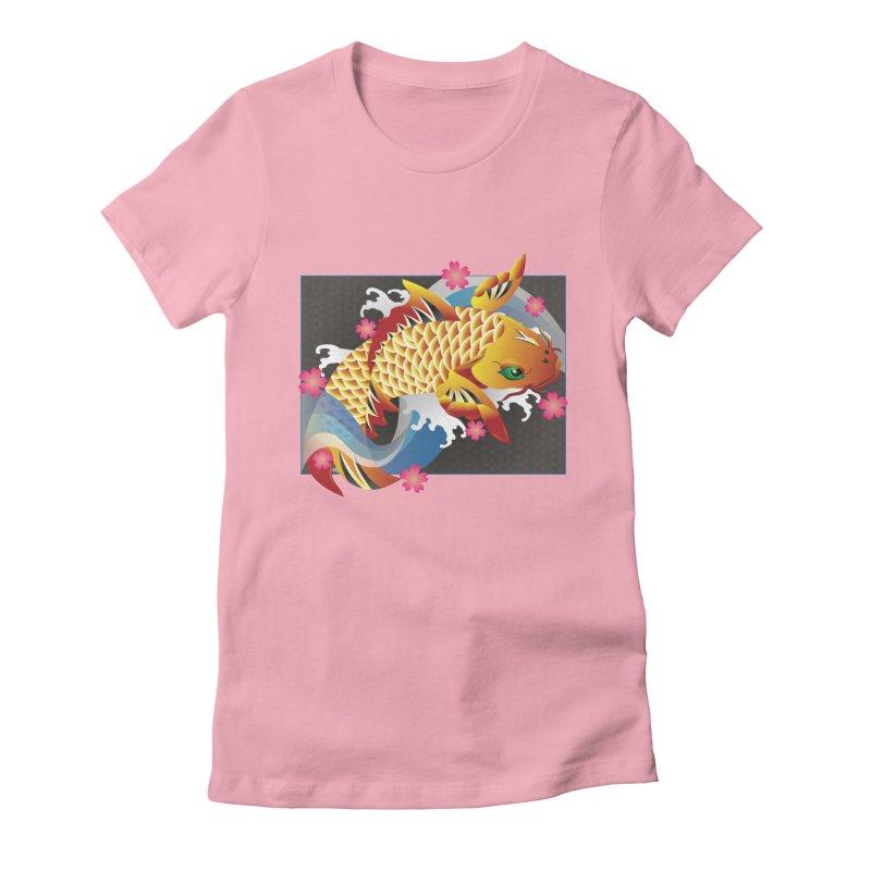 KOI Women's T-Shirt by AW177