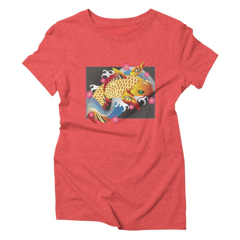 KOI Women's Triblend T-shirt by AW177
