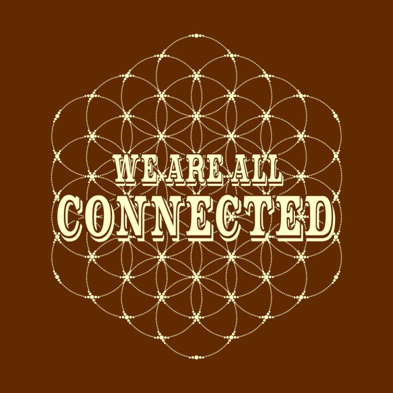 Circle of Life - Flower of Life - We Are All Connected by AWAKEN INSIGHT