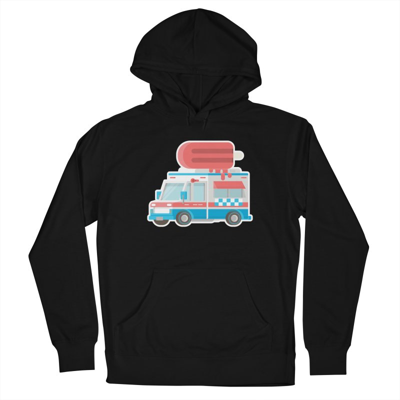 Le Truck Men's French Terry Pullover Hoody by awesombroso's Artist Shop
