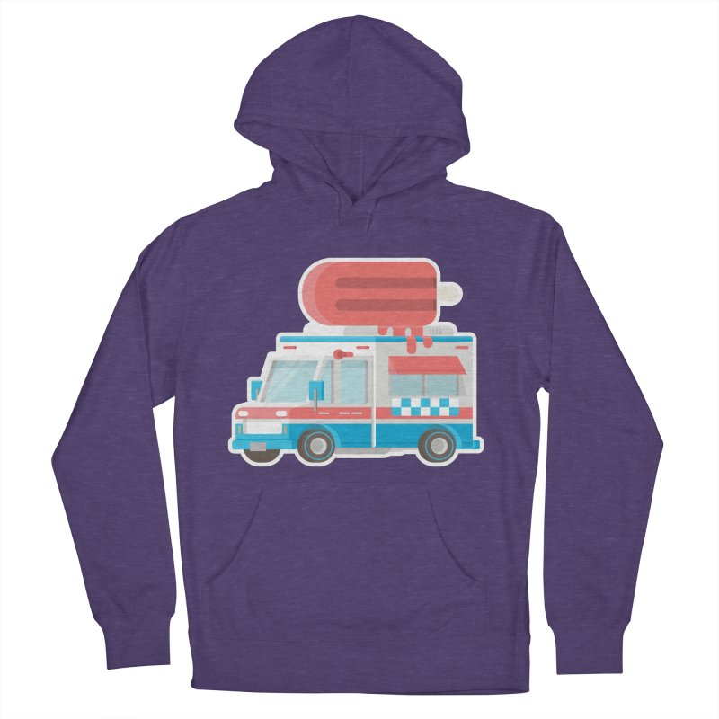 Le Truck Women's French Terry Pullover Hoody by awesombroso's Artist Shop