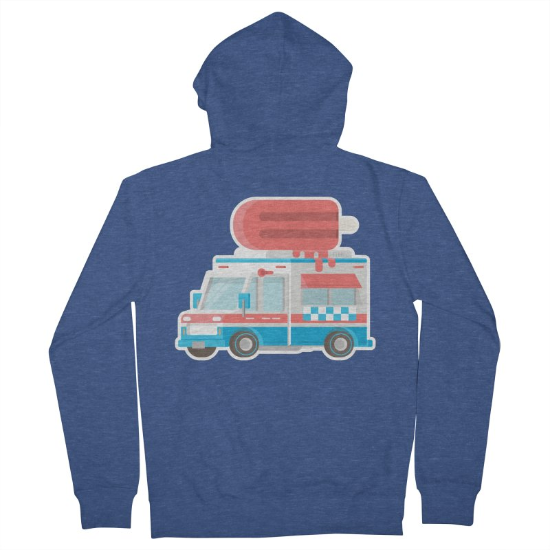 Le Truck Women's French Terry Zip-Up Hoody by awesombroso's Artist Shop