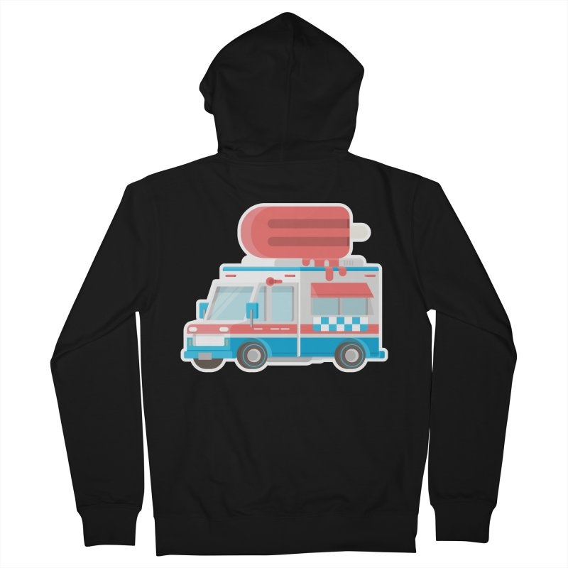 Le Truck Men's French Terry Zip-Up Hoody by awesombroso's Artist Shop