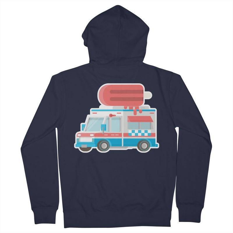 Le Truck Men's Zip-Up Hoody by awesombroso's Artist Shop
