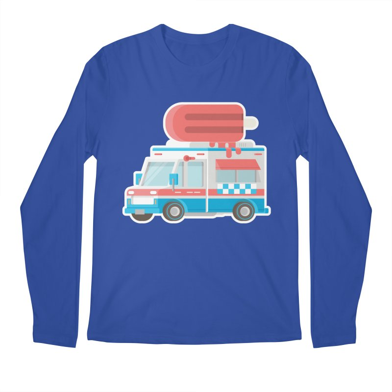 Le Truck Men's Regular Longsleeve T-Shirt by awesombroso's Artist Shop