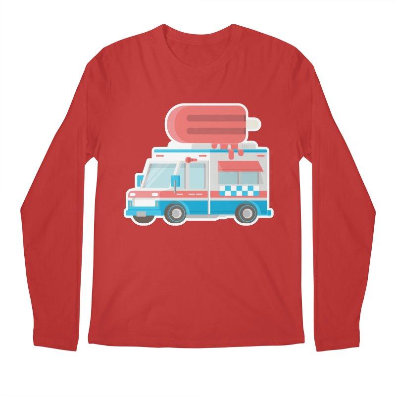 Le Truck Men's Regular Longsleeve T-Shirt by awesombroso's Artist Shop