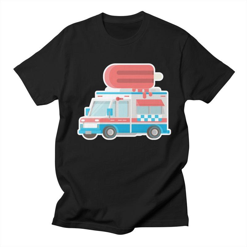 Le Truck Men's Regular T-Shirt by awesombroso's Artist Shop