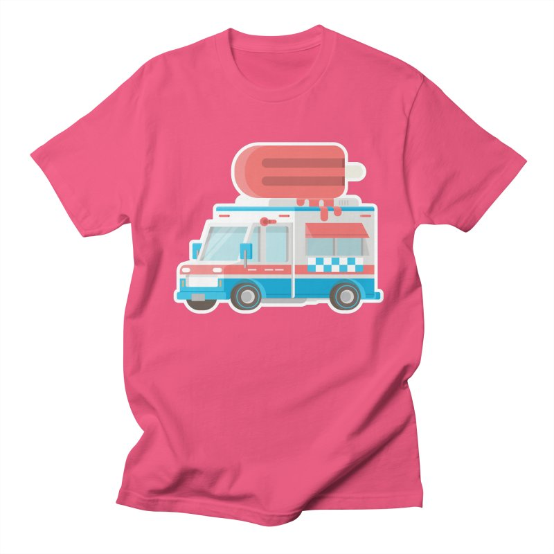 Le Truck Men's Regular T-Shirt by awesombroso's Artist Shop