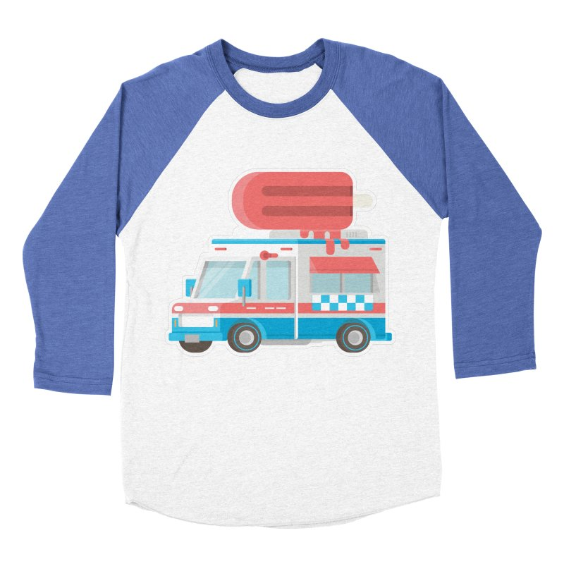 Le Truck Women's Baseball Triblend T-Shirt by awesombroso's Artist Shop