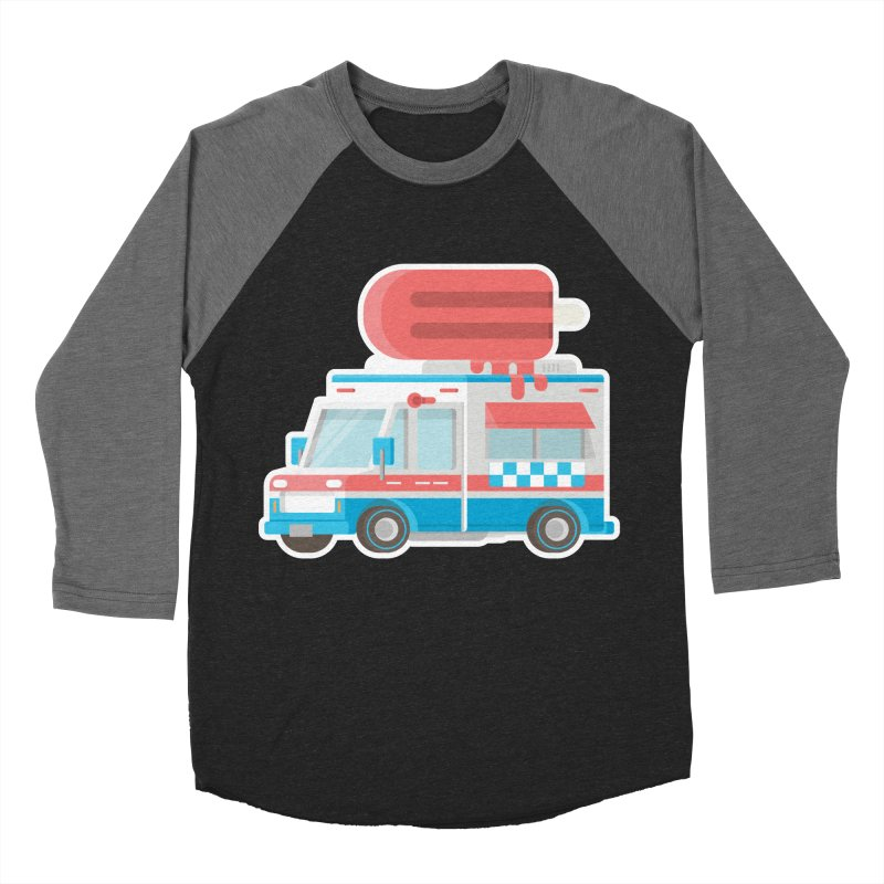 Le Truck Men's Baseball Triblend T-Shirt by awesombroso's Artist Shop