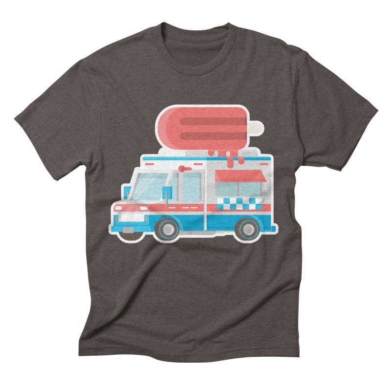 Le Truck Men's Triblend T-shirt by awesombroso's Artist Shop