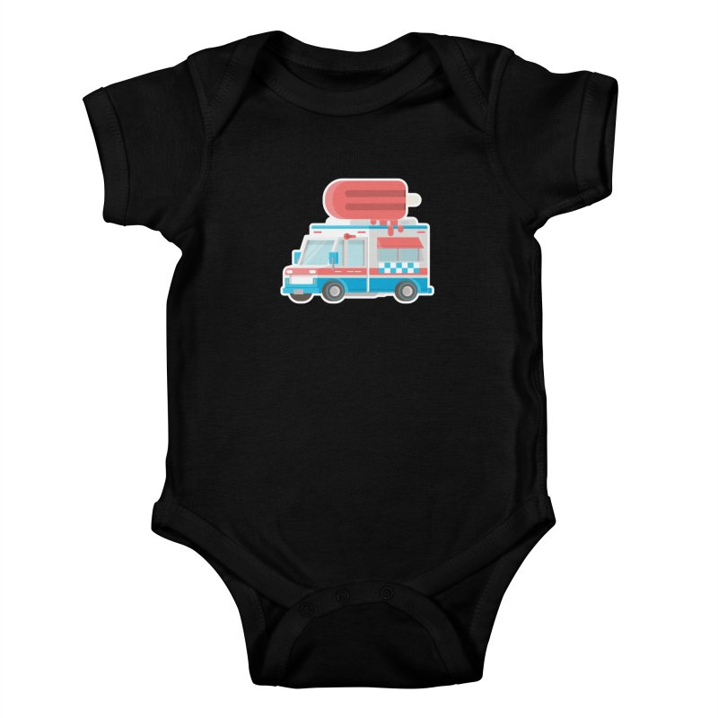 Le Truck Kids Baby Bodysuit by awesombroso's Artist Shop