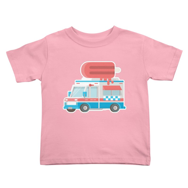 Le Truck Kids Toddler T-Shirt by awesombroso's Artist Shop