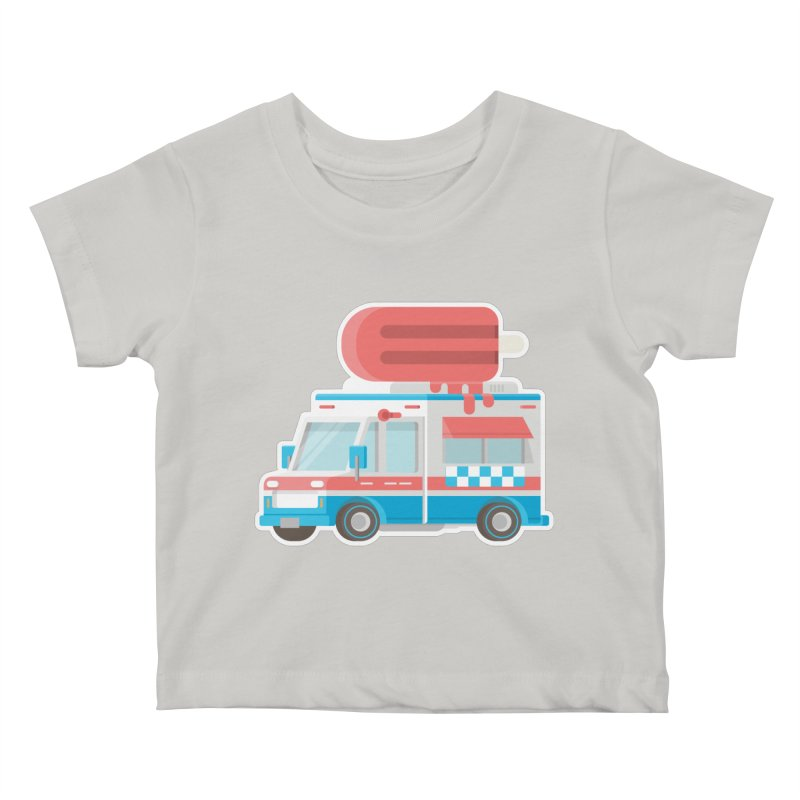Le Truck Kids Baby T-Shirt by awesombroso's Artist Shop